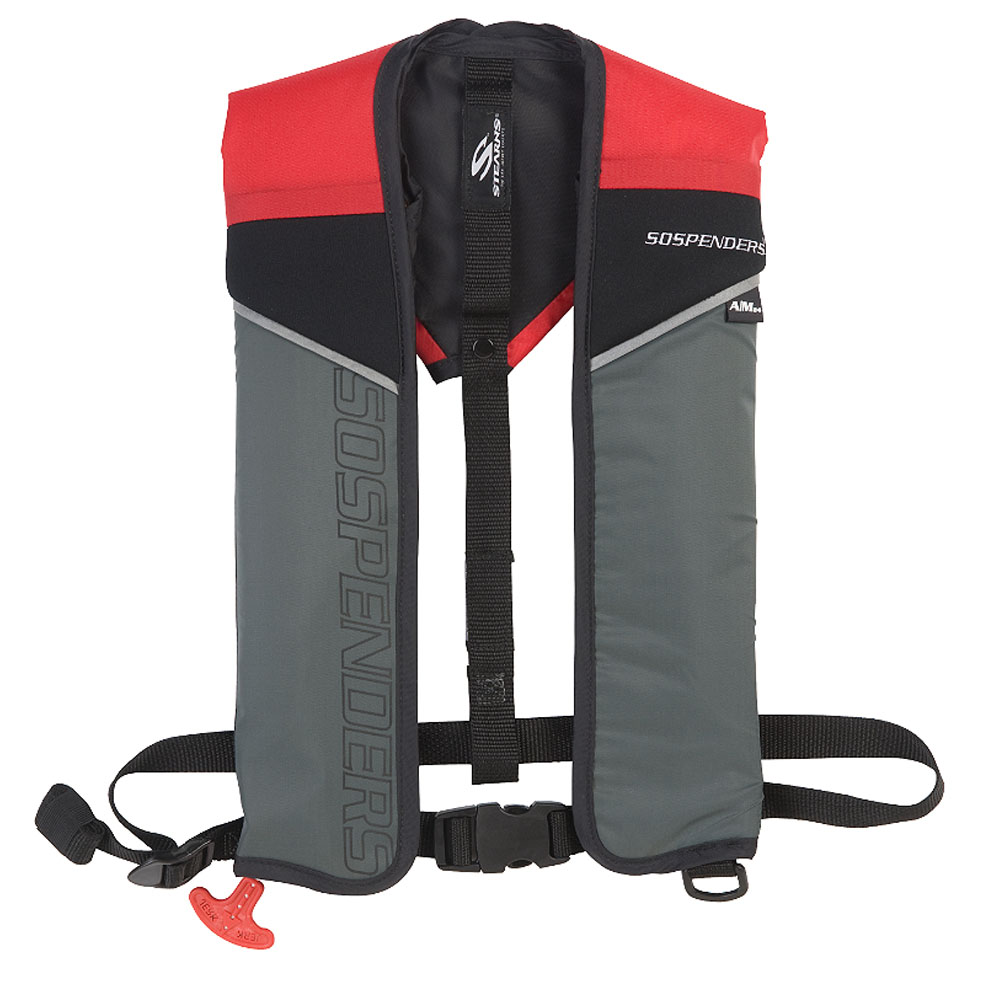 SOSpenders 1431 24G A/M Easy Repack Inflatable Vest - Red