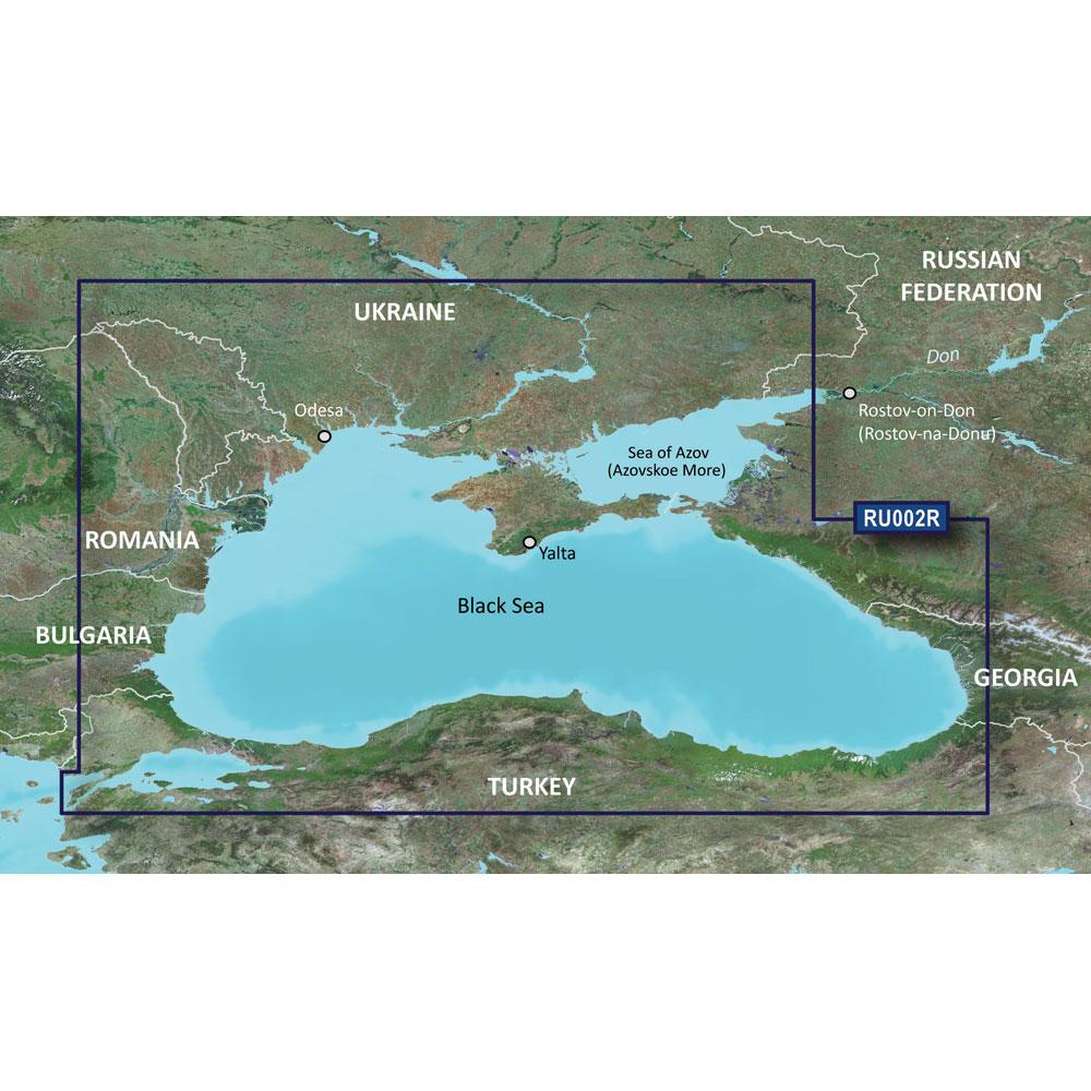 Garmin BlueChart® g3 HD - HXRU002R - Black Sea & Azov Sea - microSD™/SD™