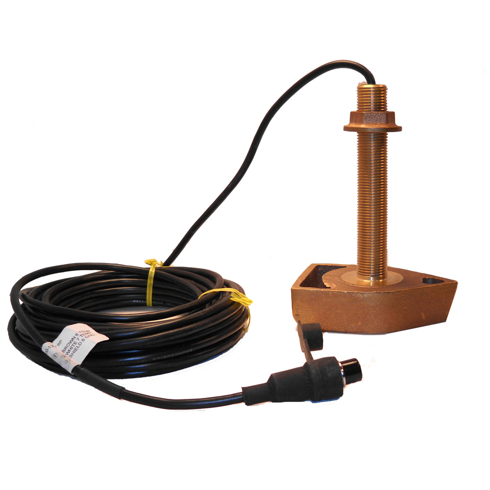 SI-TEX 120kHz Bronze Thru-Hull Transducer f/SDD-110