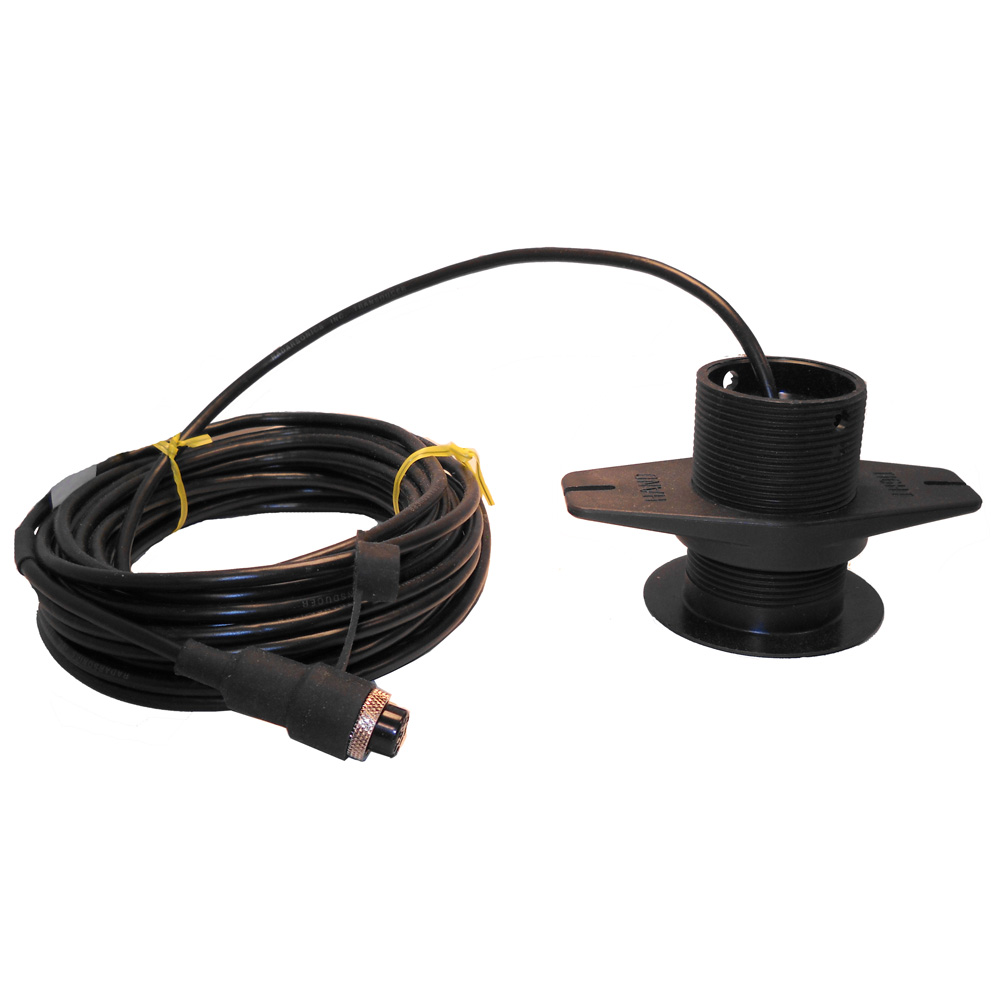 SI-TEX 120kHz Lexan Low-Profile Thru-Hull Transducer f/SDD-110