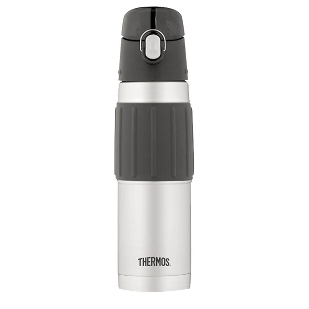 Thermos Vacuum Insulated Hydration Bottle - 18 oz. - Stainless Steel/Gray