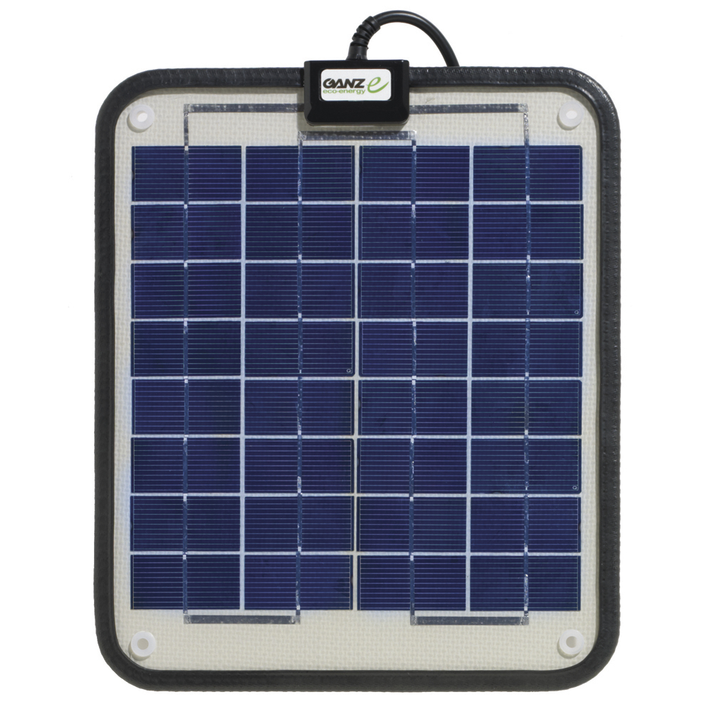 Ganz Eco-Energy Semi-Flexible Solar Panel - 6W