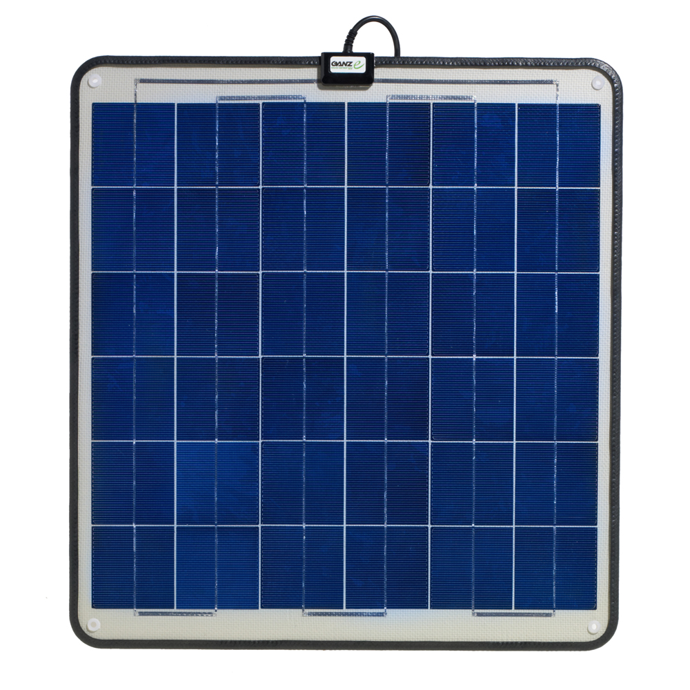 Ganz Eco-Energy Semi-Flexible Solar Panel - 30W