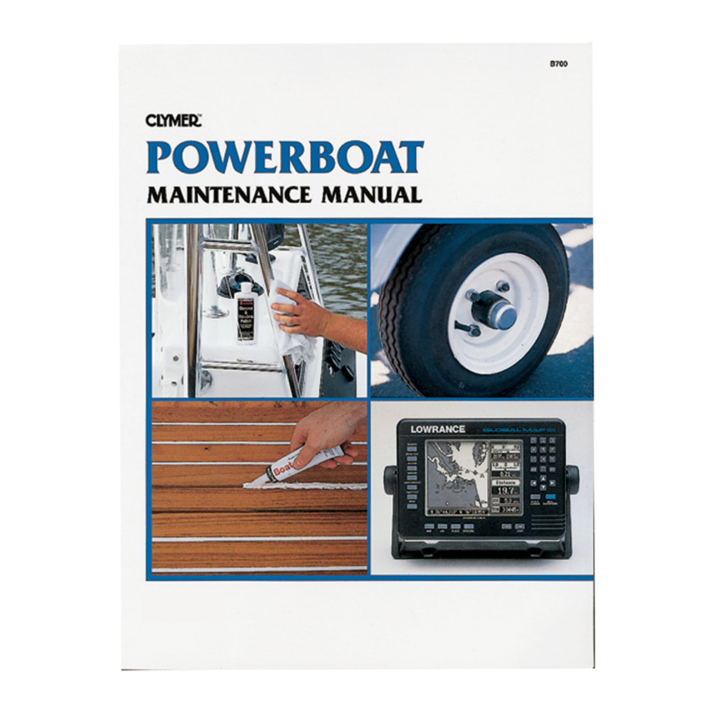 Clymer Powerboat Maintenance Manual