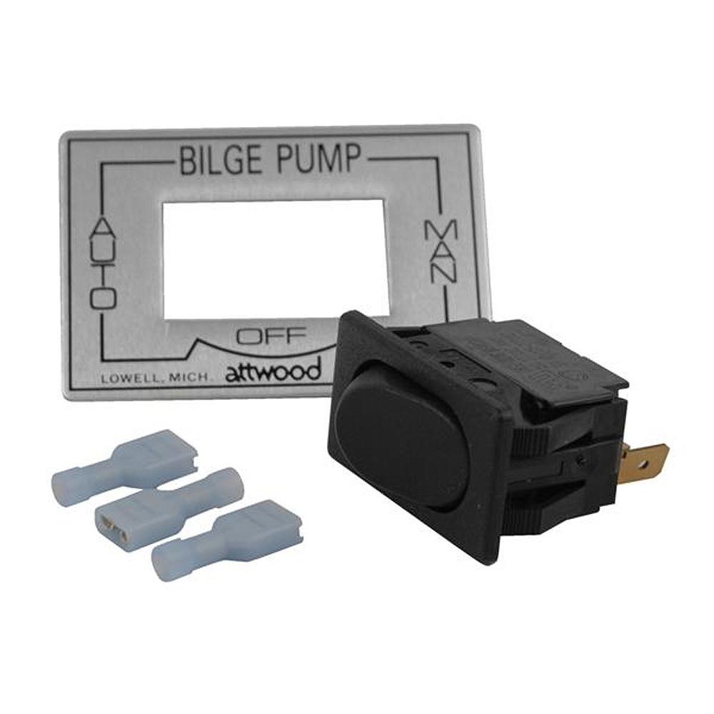 Attwood 3 Way Auto Off Manual Bilge Pump Switch 7615a3 Electronics