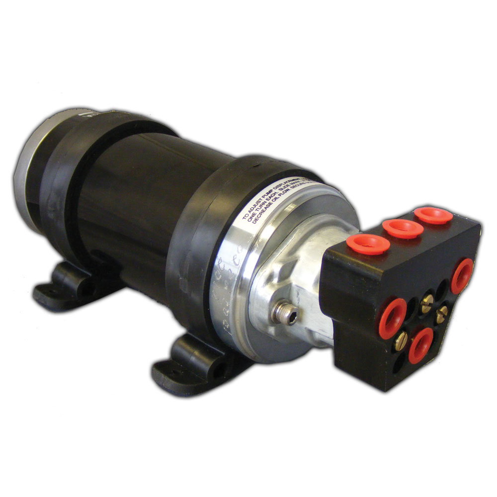 Octopus Autopilot Pump Type 1 Adjustable Reversing Pump w/Shut-Off Valve - 12V up to 18ci Cylinder