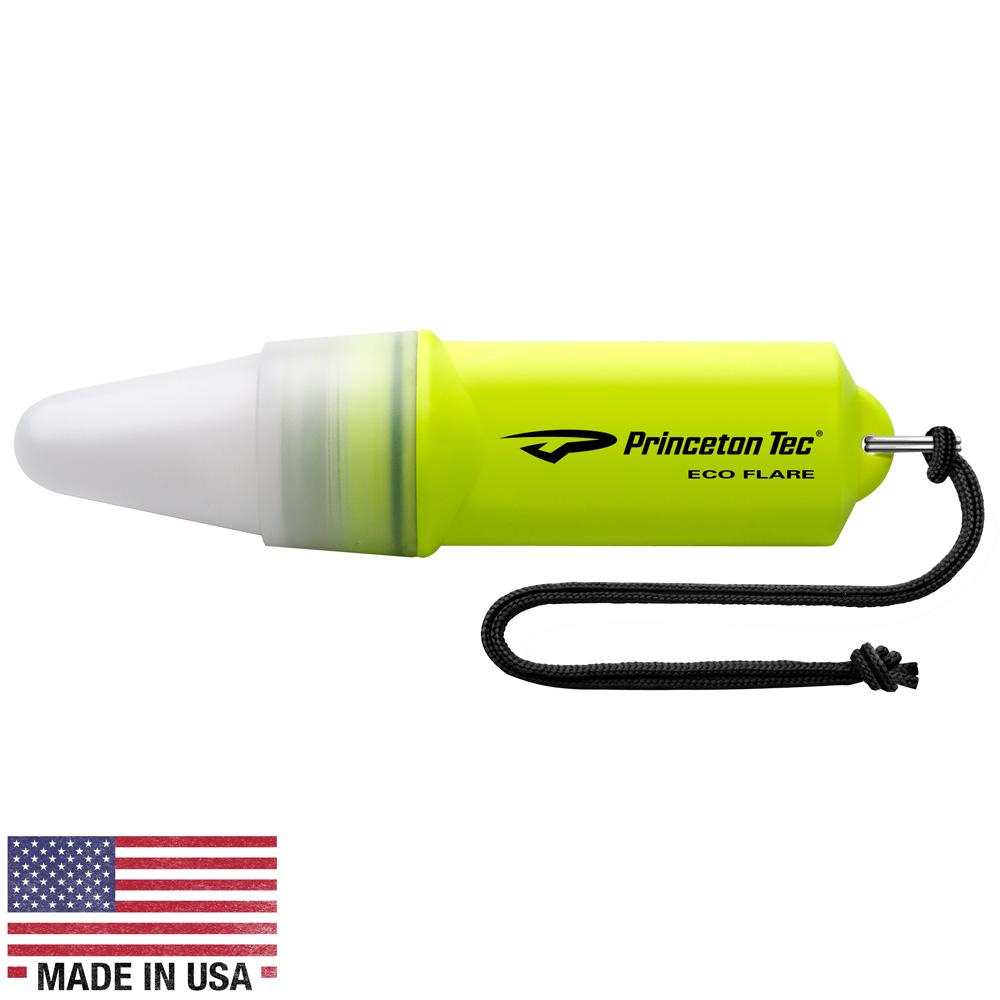 Princeton Tec ECO FLARE 10 Lumen LED Marker Light - Neon Yellow