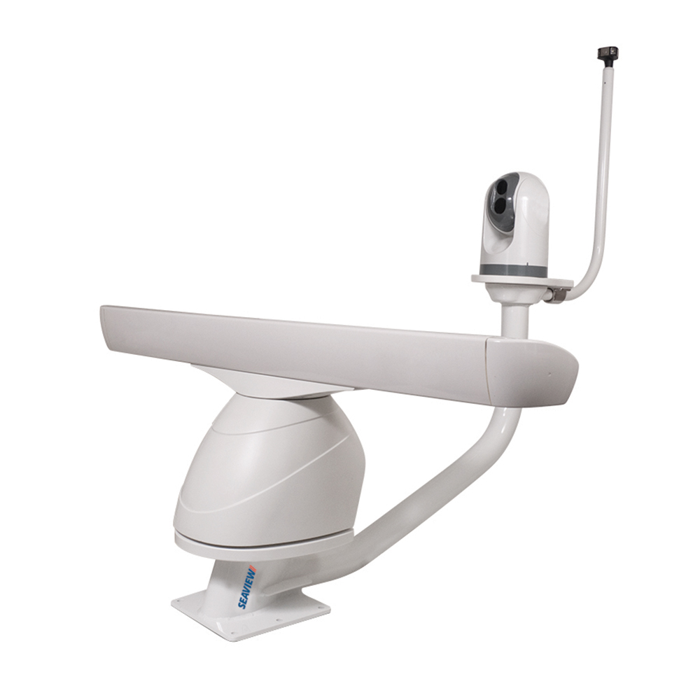 Seaview Dual Mount AFT Leaning f/Closed or Open Array Radars & Satdomes or Cameras