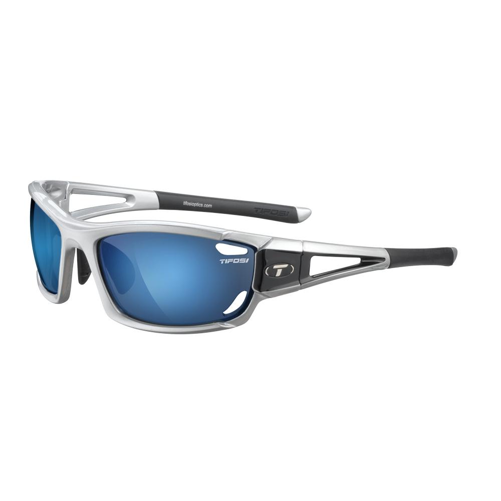 Tifosi Dolomite 2.0 Interchangeable Lens Sunglasses - Metallic Silver
