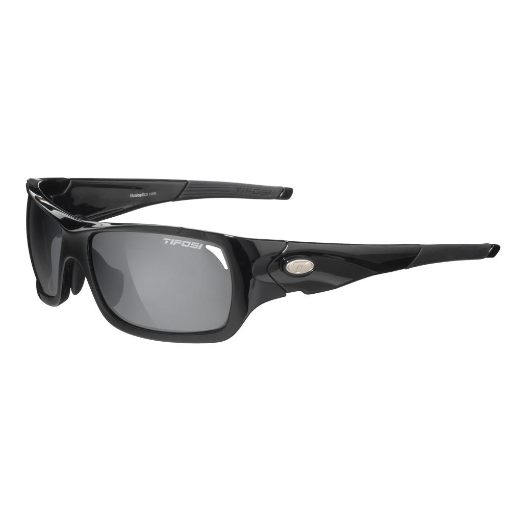 Tifosi Duro Interchangeable Lens Sunglasses - Gloss Black