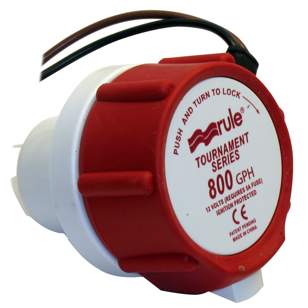 Rule 46DR Replacement Motor Cartridge f/Tournament Series™ - 800GPM/12V