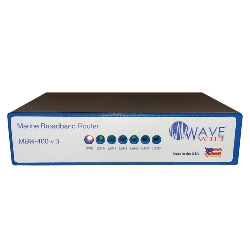 Wave WiFi Marine Broadband Router - 4-Source