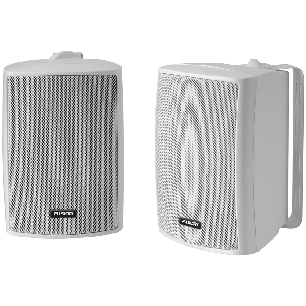 FUSION 4 Compact Marine Box Speaker - (Pair) White at Sears.com