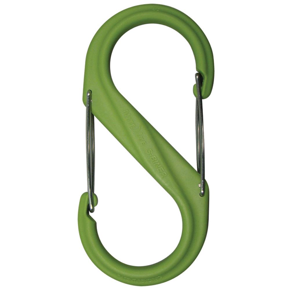 Nite Ize S-Biner Plastic Size #2 - Lime Green