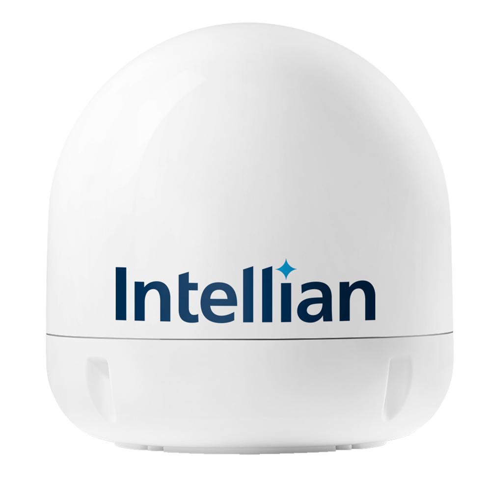 Intellian i6/i6P/i6W/s6HD Empty Dome & Base Plate Assembly