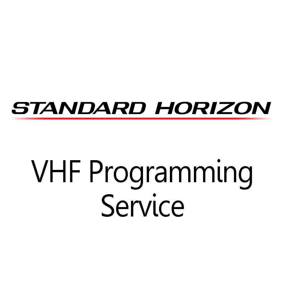 Standard Horizon VHF Programming Service