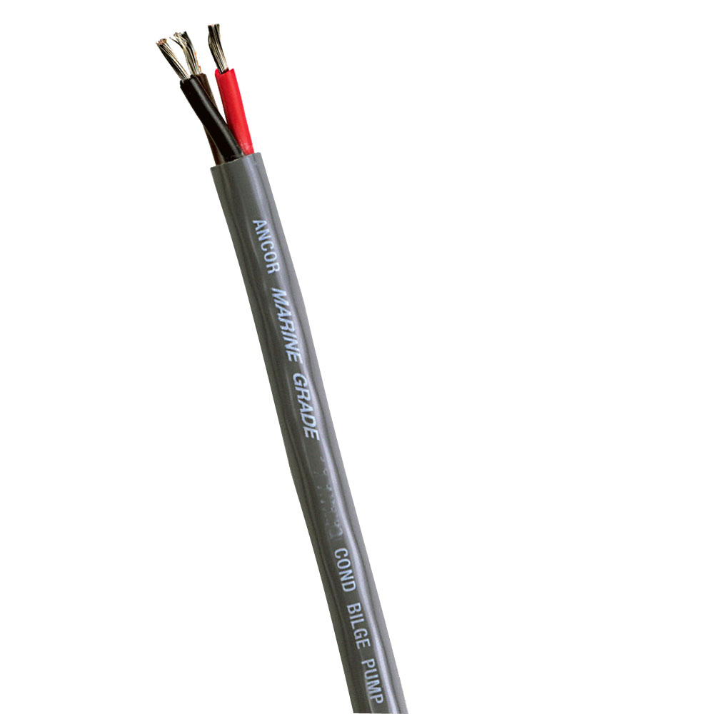 Ancor Bilge Pump Cable - 16/3 STOW-A Jacket - 3x1mm² - Sold By The Foot