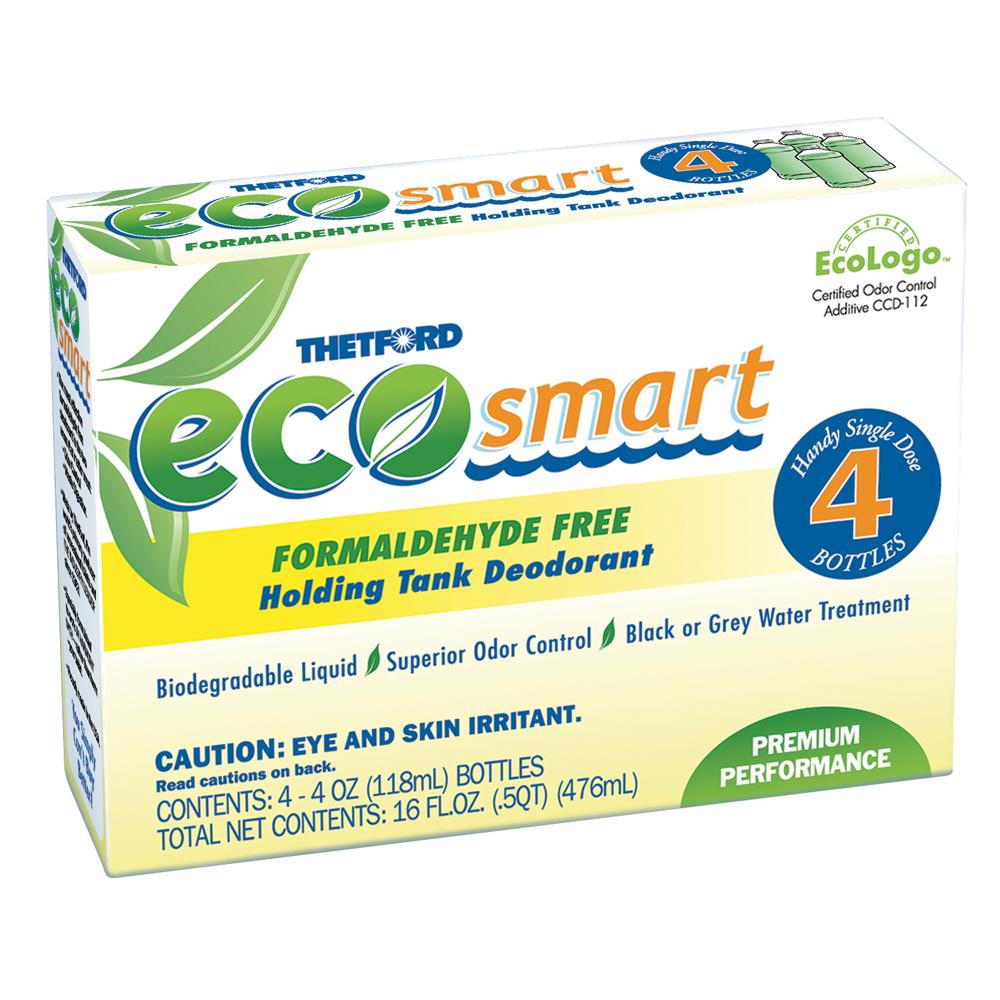 Thetford Eco-Smart Holding Tank Deodorant - Formaldehyde Free Formula - 4 oz. 4-Pack