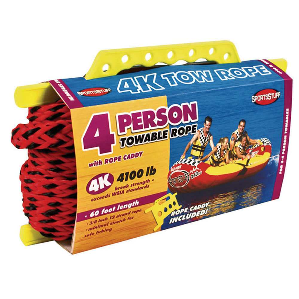 SportsStuff 4K Tow Rope - 4-Person - 60'