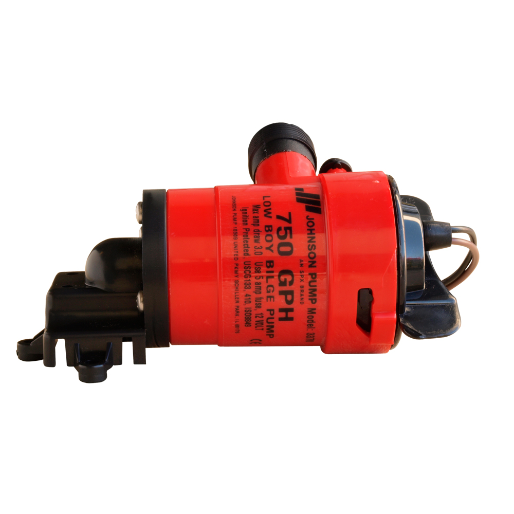 Johnson Pump Low Boy Bilge Pump - 1250 GPH, 12V