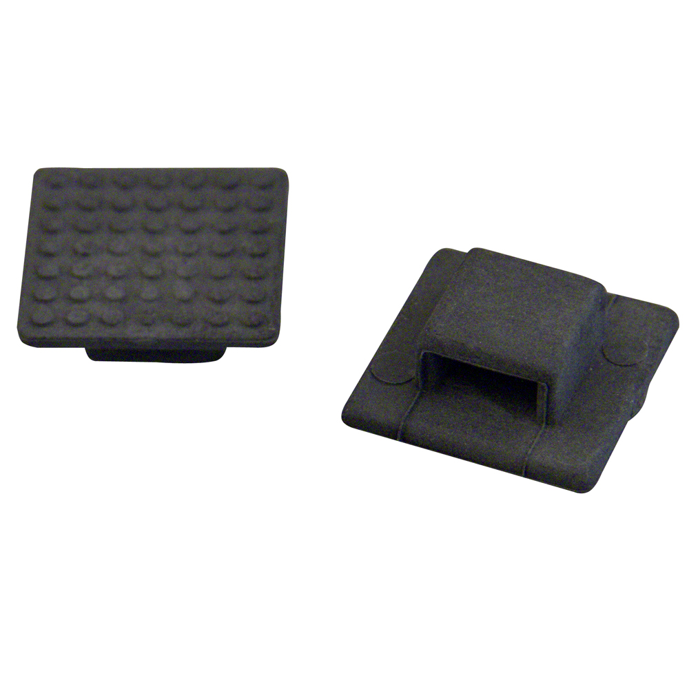Weld Mount AT-3B Small Black Nylon Wire Tie Mount - Qty. 30