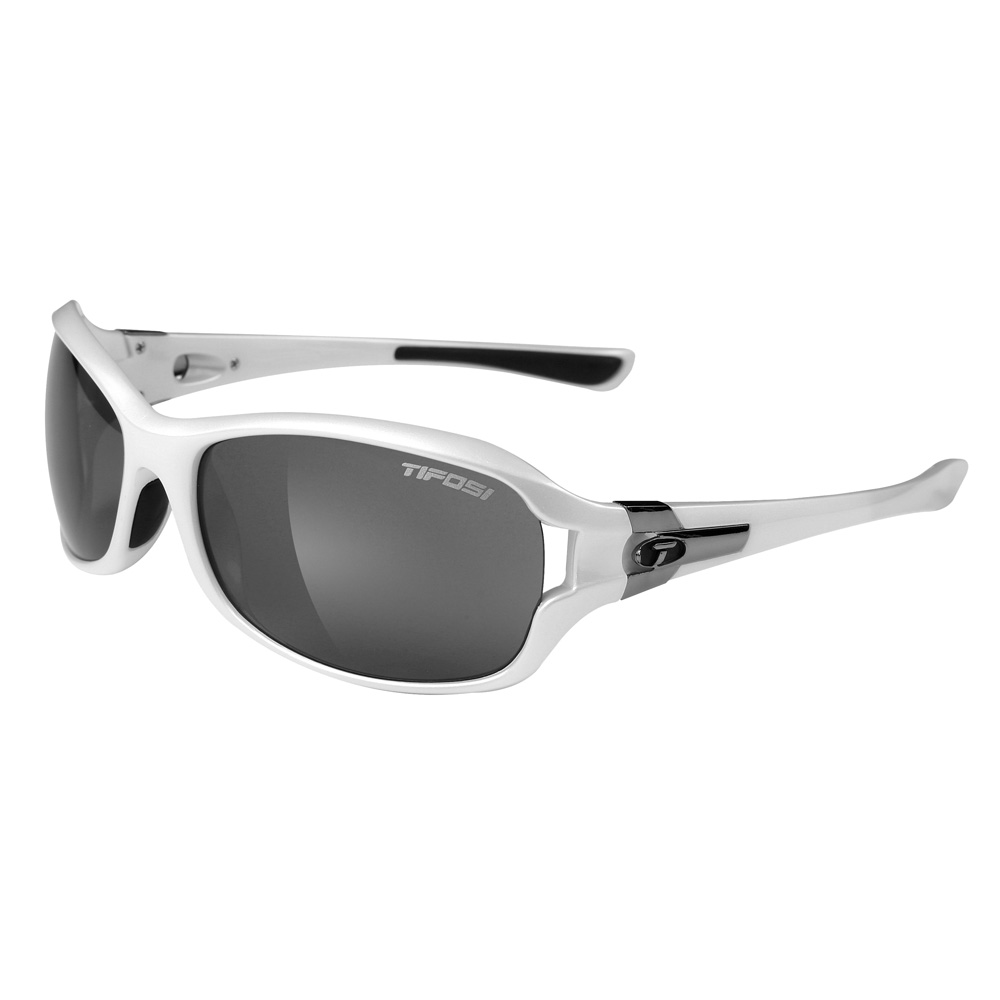 Tifosi Dea Single Lens Sunglasses - Pearl White