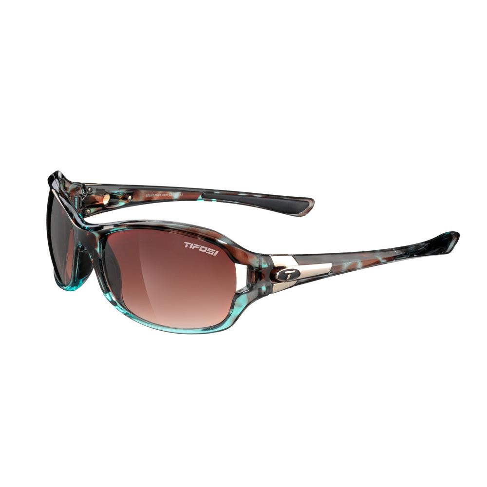 Tifosi Dea Single Lens Sunglasses - Blue Tortoise