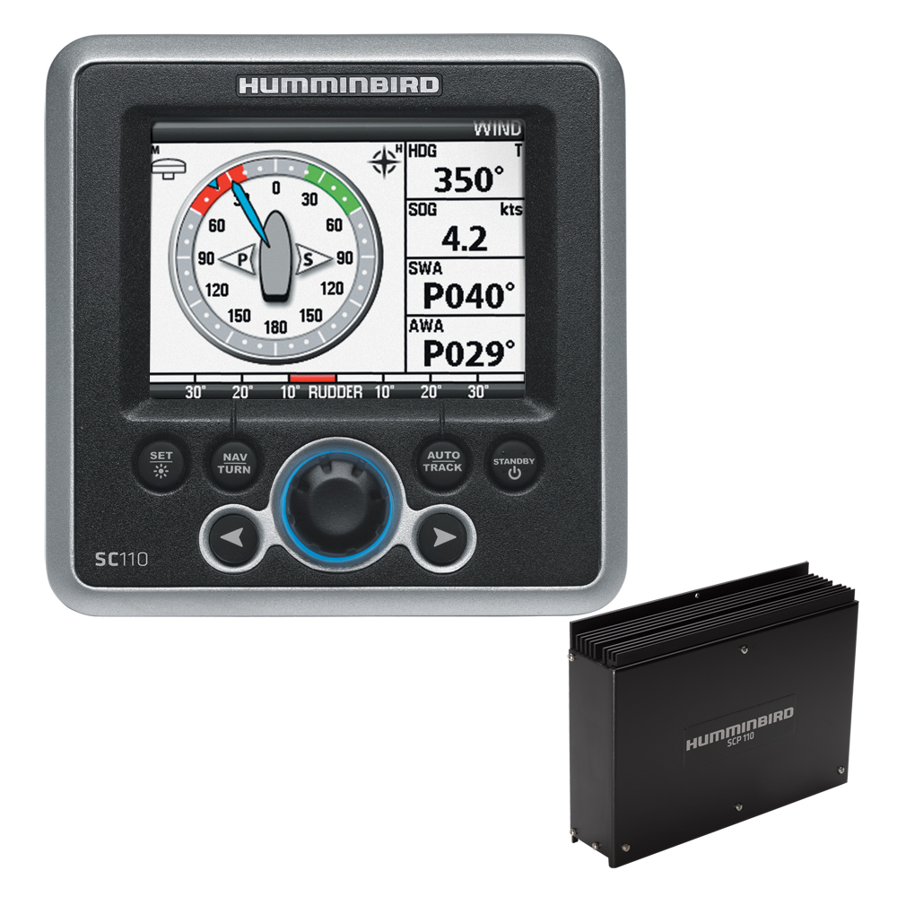 Humminbird SC 110 Autopilot System w/o Rudder Feedback