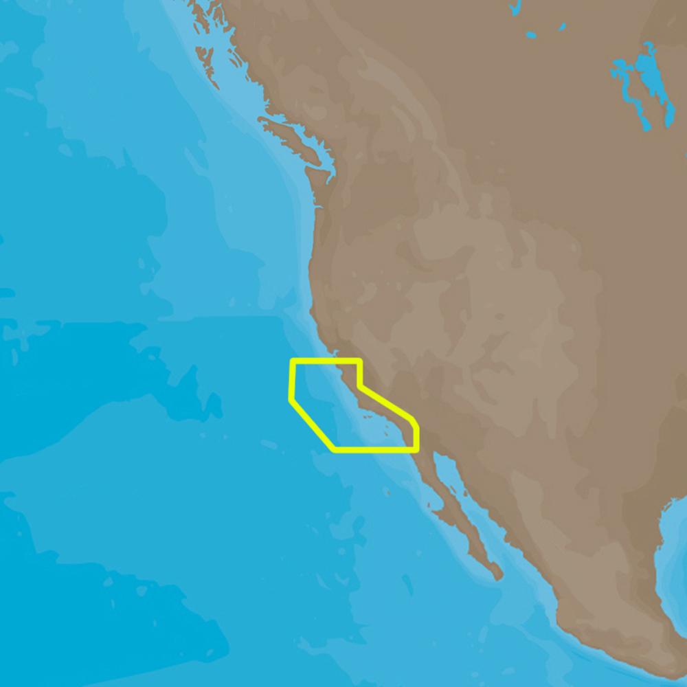 C-MAP  4D NA-D952 San Diego to Santa Cruz