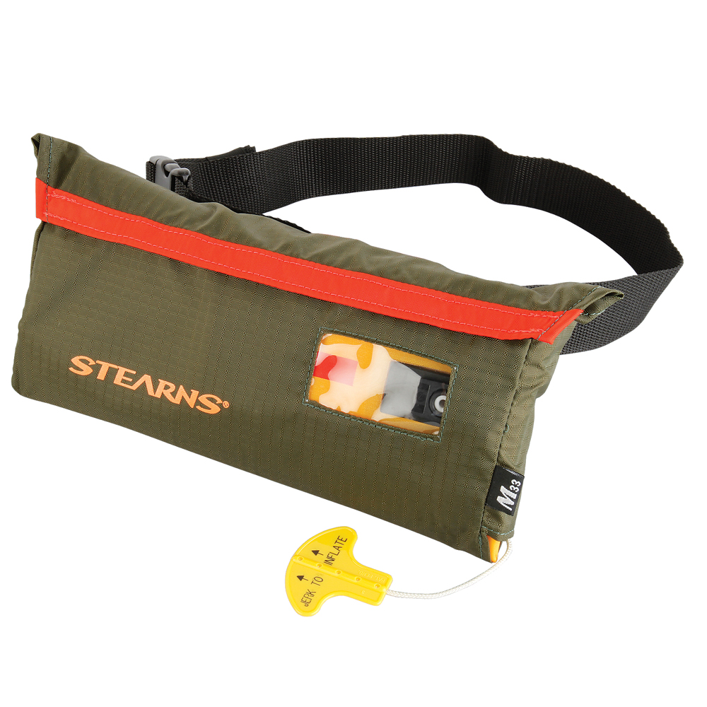 Stearns 0275 M33 Inflatable Belt Pack - Hunt/Fish Spec.