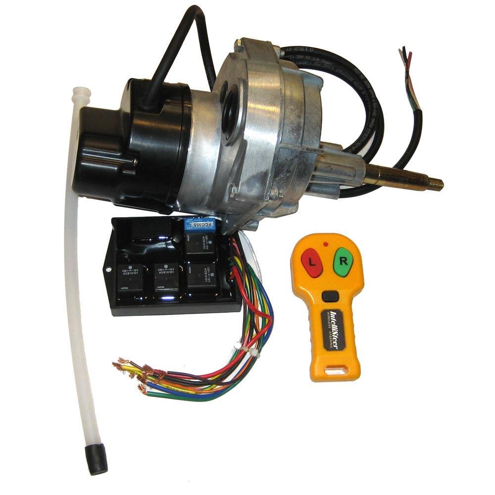 Intellisteer Type S Remote Steering f/Cable Steered Vessels f/Straight Shaft Helms