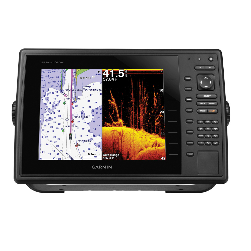 Garmin GPSMAP 1040xs Combo - Preloaded US Lakes & US Offshore - No Transducer 010-01184-01