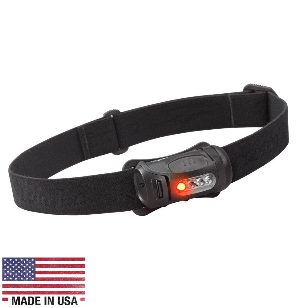 Princeton Tec FRED 45 Lumen LED Headlamp w/Red LED - Black