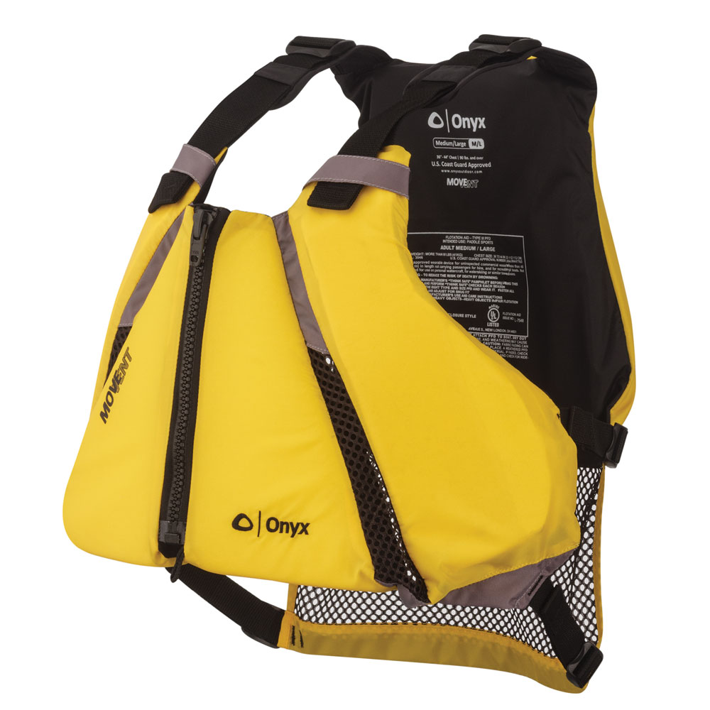 Onyx MoveVent Curve Paddle Sports Life Vest - XS/S