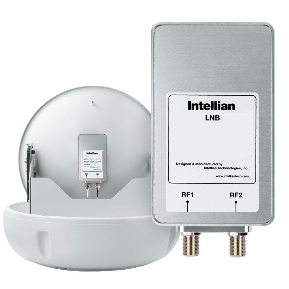 Intellian North American LNB (11.25GHz, 2 Ports) f/Use w/DIRECTV, DISH Network & Bell