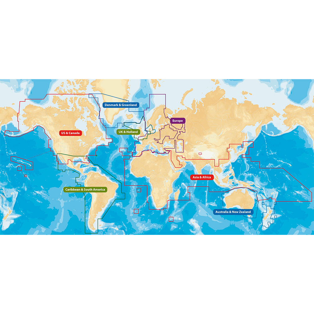 Navionics Navionics+ Flexible World Coverage Msd Format