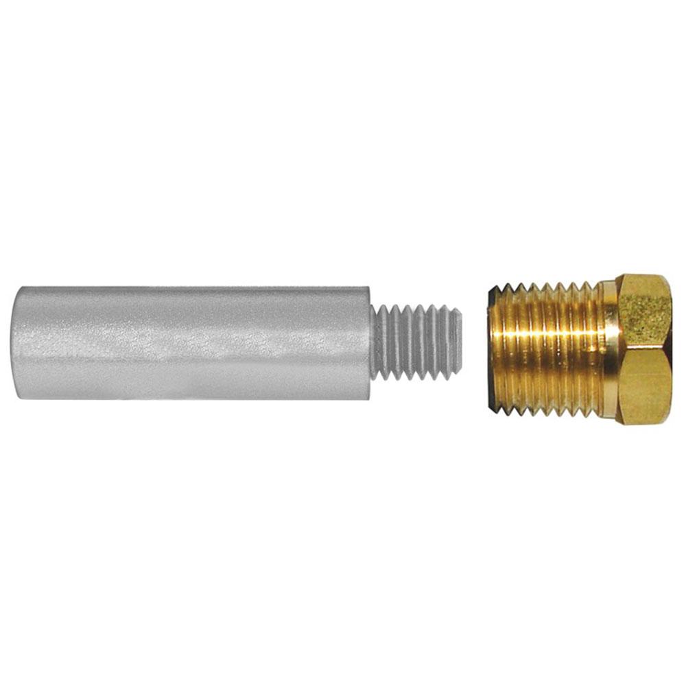Tecnoseal E1 Pencil Zinc w/Brass Cap