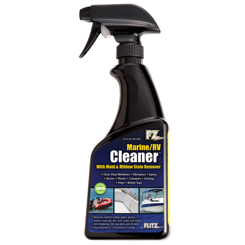 Flitz Marine/RV Cleaner w/Mold & Mildew Stain Remover - 16oz Spray Bottle