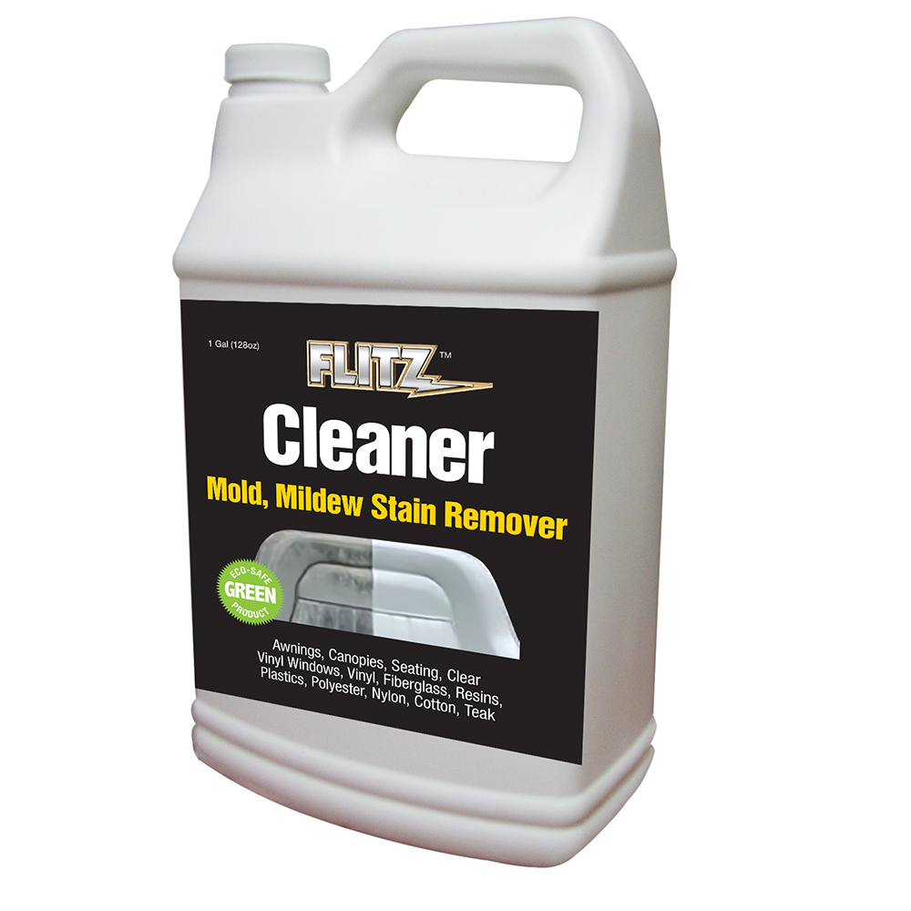 Flitz Marine/RV Cleaner w/Mold & Mildew Stain Remover - 1 Gallon (128oz)Refill