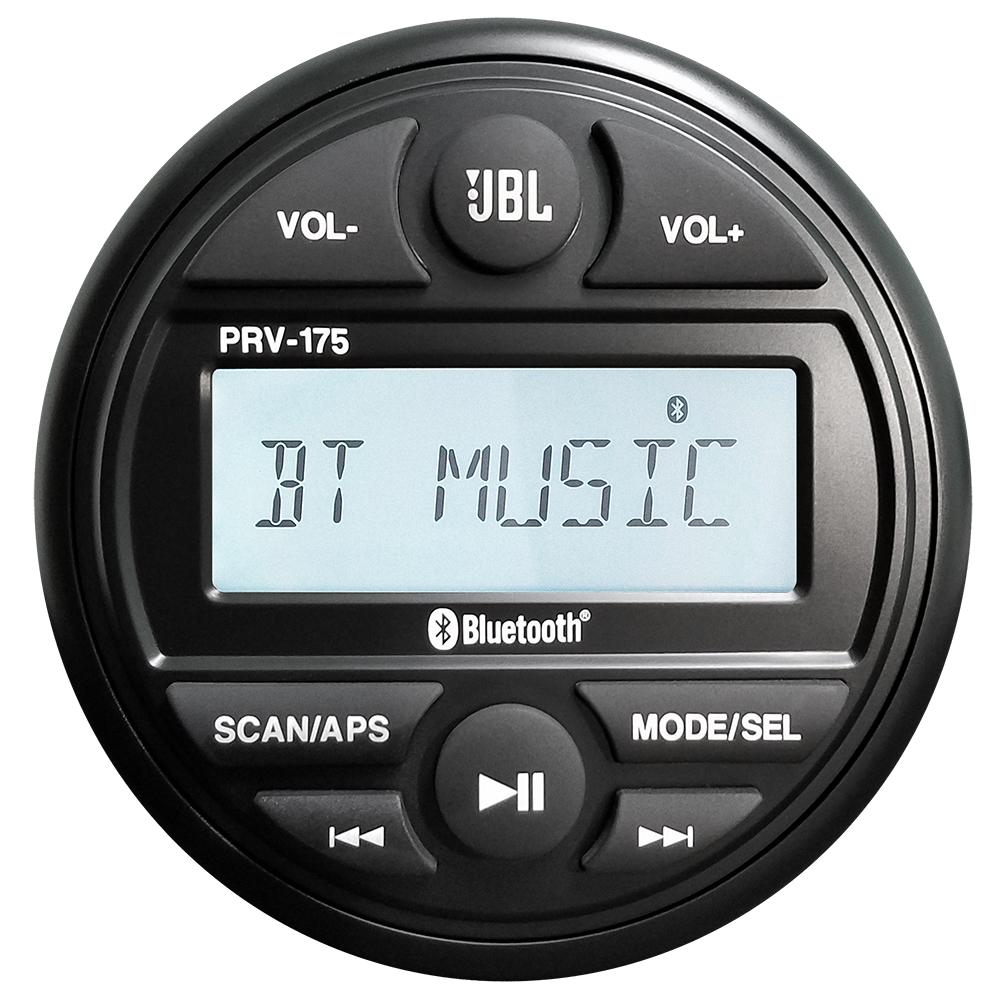 JBL PRV 175 AM/FM/USB/Bluetooth® Gauge Style Stereo