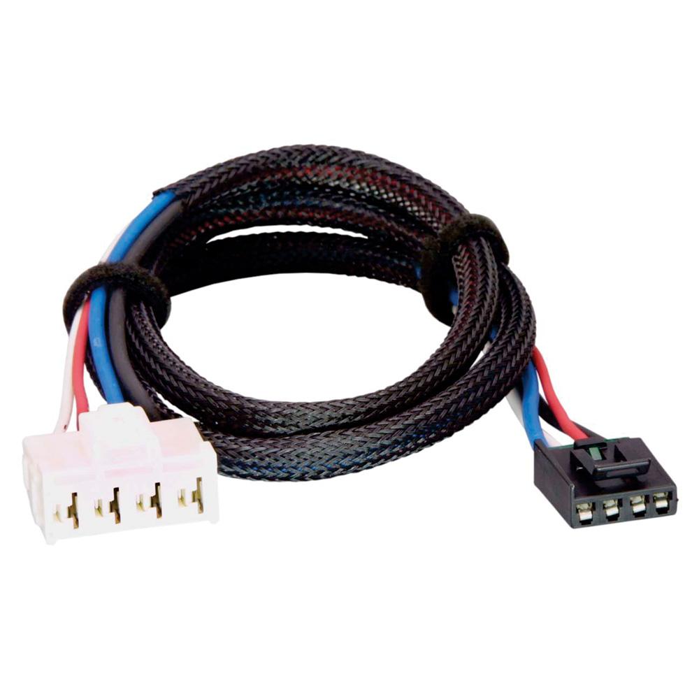 Tekonsha Brake Control Wiring Adapter - 2 Plug - fits Dodge, RAM, Chrysler