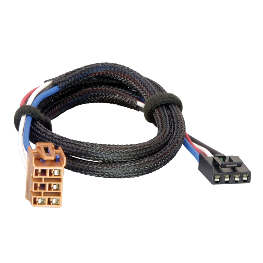 Tekonsha Brake Control Wiring Adapter - 2 Plug - fits GM, Chevrolet, Cadillac