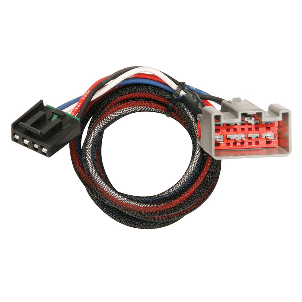 Tekonsha Brake Control Wiring Adapter - 2 Plugs - fits Ford & Lincoln