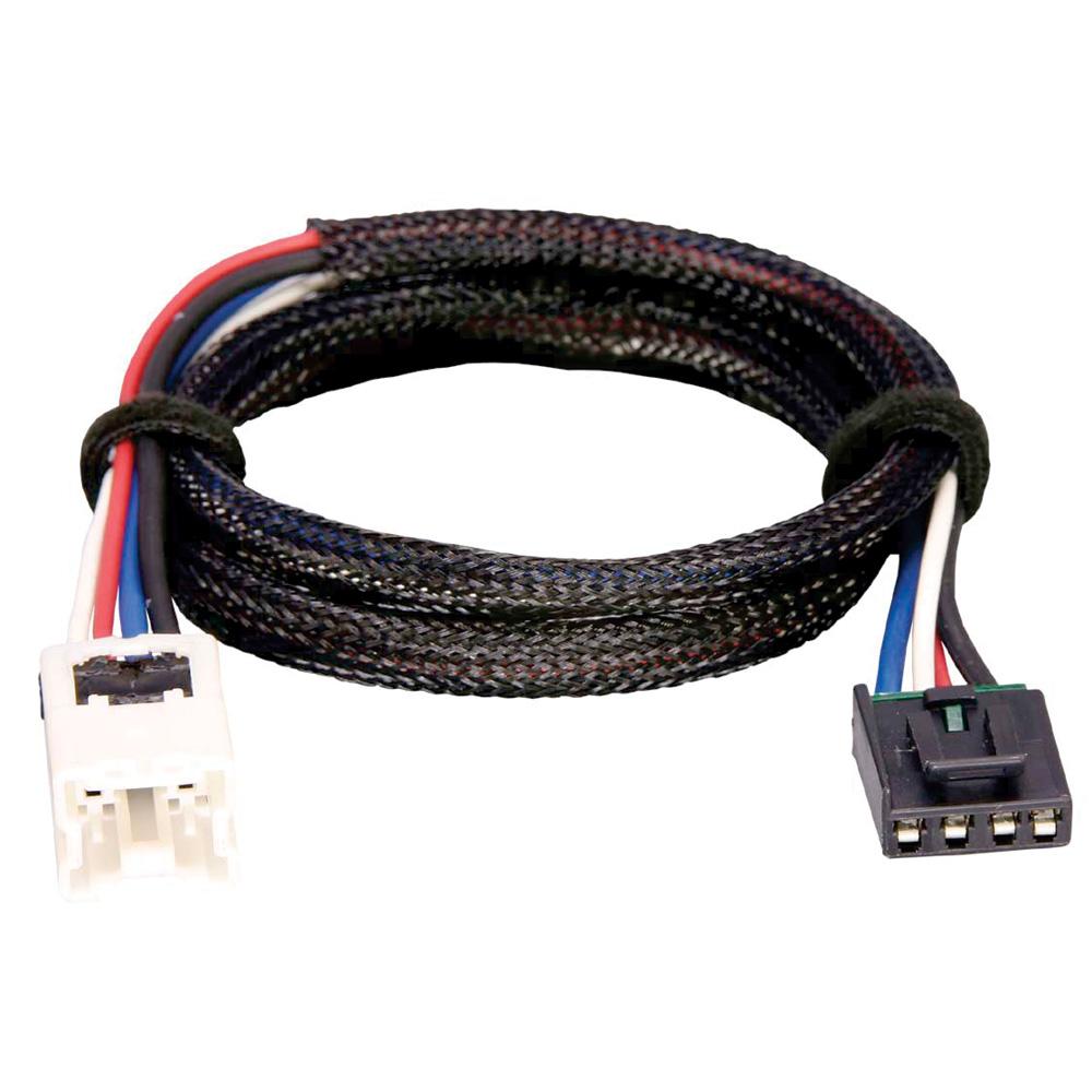 Tekonsha Brake Control Wiring Adapter - 2 Plug - fits Nissan, Infiniti