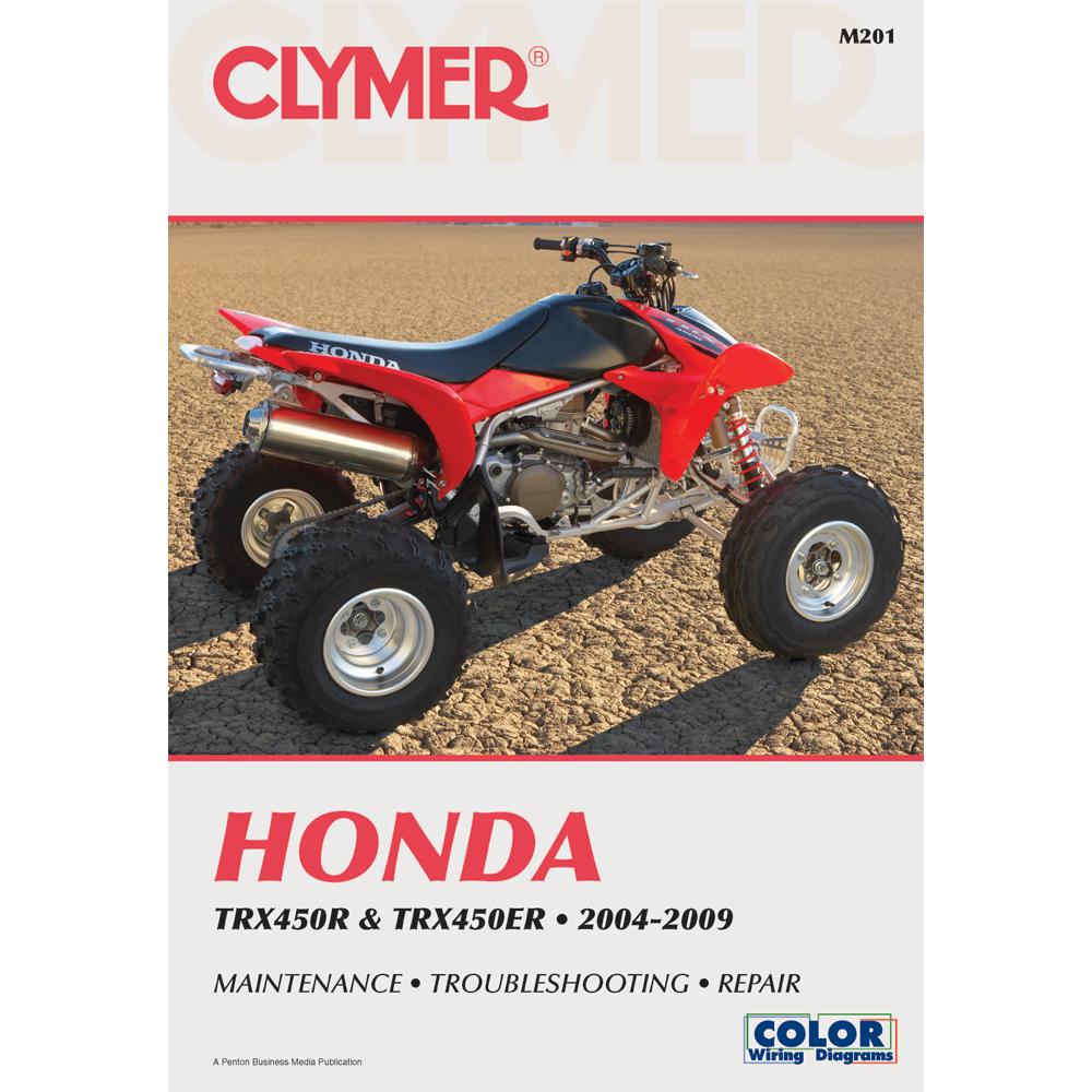 Clymer Honda TRX450R & TRX450ER (2004-2009)