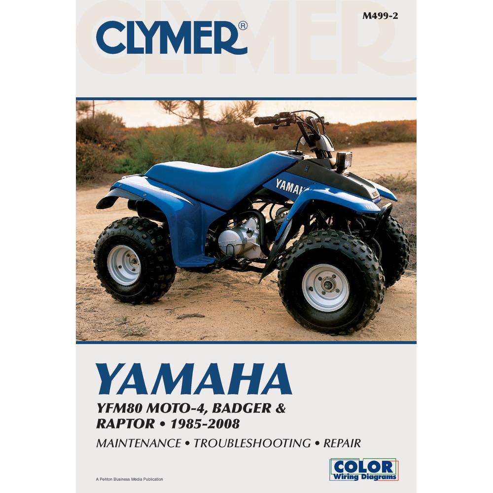 Clymer Yamaha YFM80 Moto-4, Badger & Raptor (1985-2008)