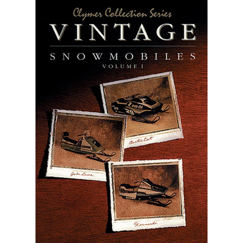 Clymer Vintage Snowmobiles, Volume 1