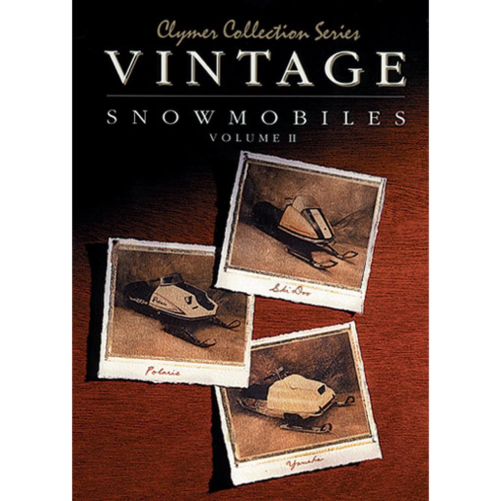 Clymer Vintage Snowmobiles, Volume 2