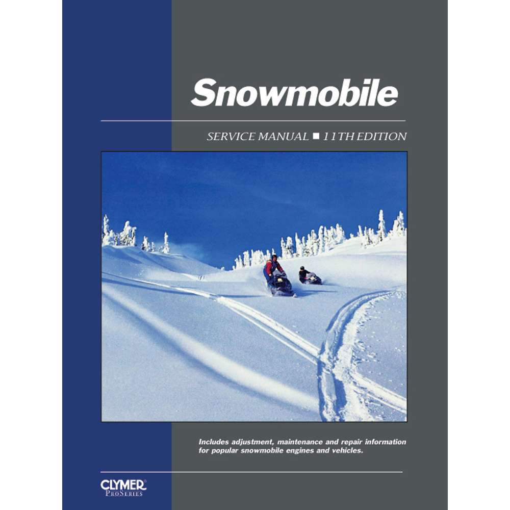 Clymer ProSeries Snowmobile Service Manual (1962-1986)