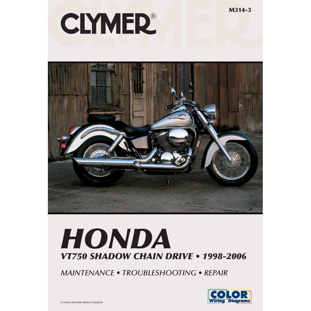 Clymer Honda VT750 Shadow Chain Drive (1998-2006)